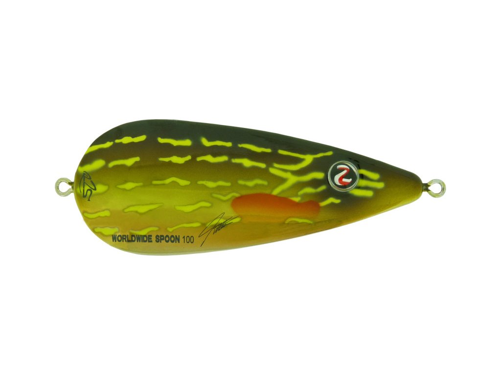 worldwide spoon 100 color 22 pike front