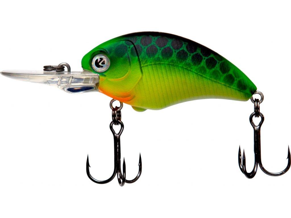 Umělá nástraha – ZECK Danny 4,5cm F 1,8m Gecko