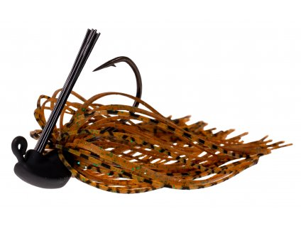 ZECK Skirted Jig Brown 1/0 |10g