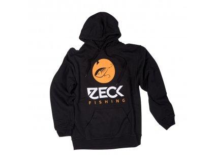 zeck fishing hoodie predator black 170117