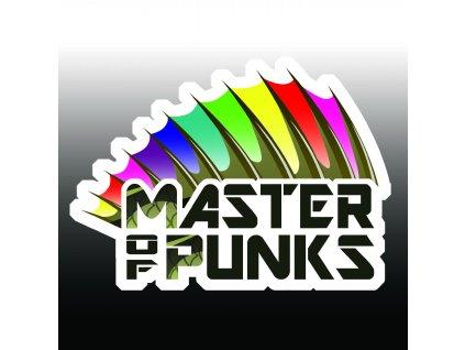 Master of Punks samolepka s ořezem