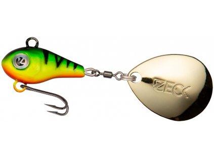 zeck fishing jig spinner mini firetiger1aPuDysFKTY7w