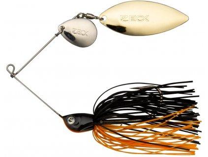 zeck fishing spinnerbait black orangeYBBMMDQXQlIrb