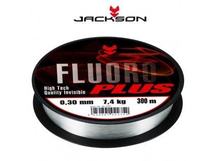 Fluorocarbon - Jackson Fluoro Plus (průměr 0,30 / nosnost 7,4 Kg) 300m