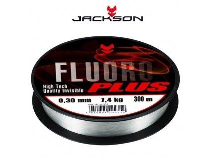 Fluorocarbon - Jackson Fluoro Plus (průměr 0,17 / nosnost 2,8Kg) 300m