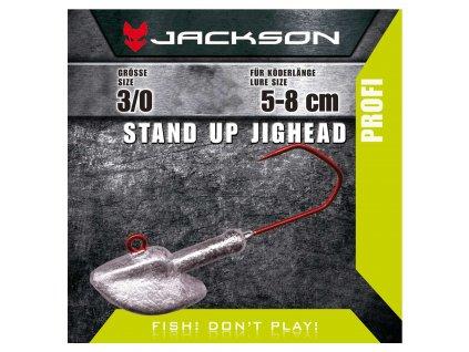 Jigová hlavička - Jackson VMC Jighead Stand Up 3/0 10g