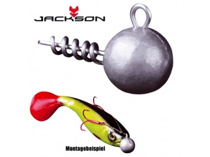 šroubovací jigová hlavička - Easy Jighead 21g