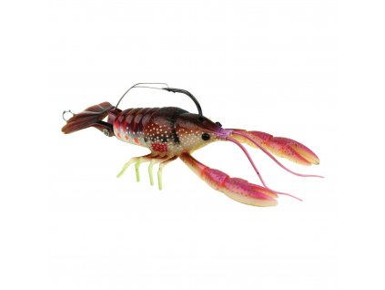 imitace raka - River2Sea Clackin´Crayfish 90 mm (Brown/Red)