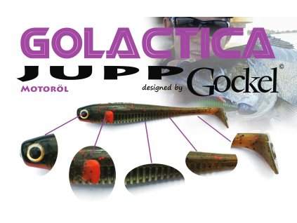Gumová nástraha - JUPP Golactica (Motoroil) – 125mm