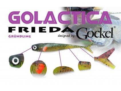 Gumová nástraha - FRIEDA Golactica (Grundling) – 110mm