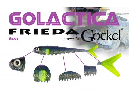 Gumová nástraha - FRIEDA Golactica (Sexy) – 110mm