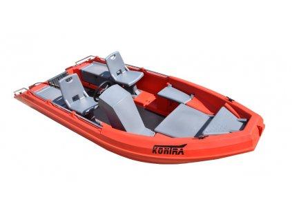 polyethylenová loď - KONTRA 450