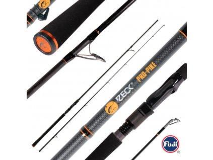 zeck fishing pro pike 270 200271 comp