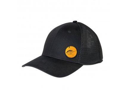 zeck fishing mesh cap just black 270003