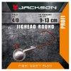 Jigová hlavička - Jackson VMC Jighead Round 4/0 24g