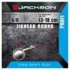 Jigová hlavička - Jackson VMC Jighead Round 6/0 28g