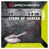 Jigová hlavička - Jackson VMC Jighead Stand Up 3/0 24g
