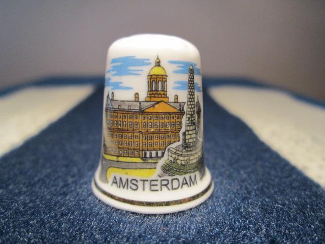 Náprstek Holandsko - Amsterdam - náprstky svět