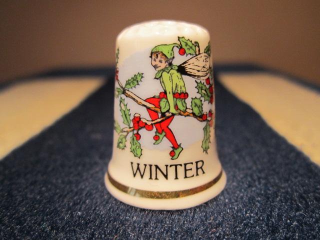 Zima s cesmínovým skřítkem