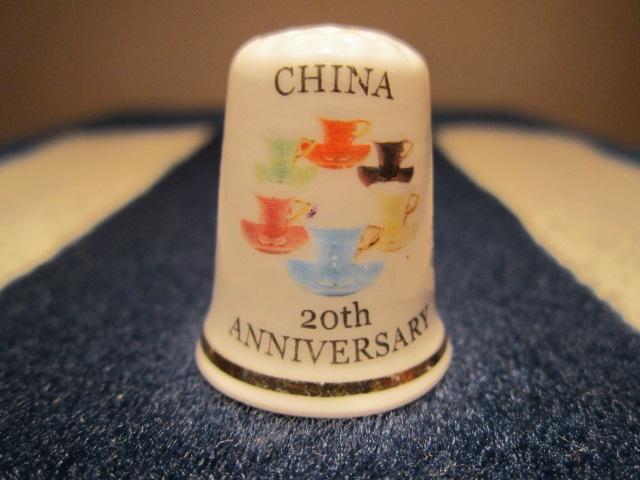 20. výročí svatby - porcelánové