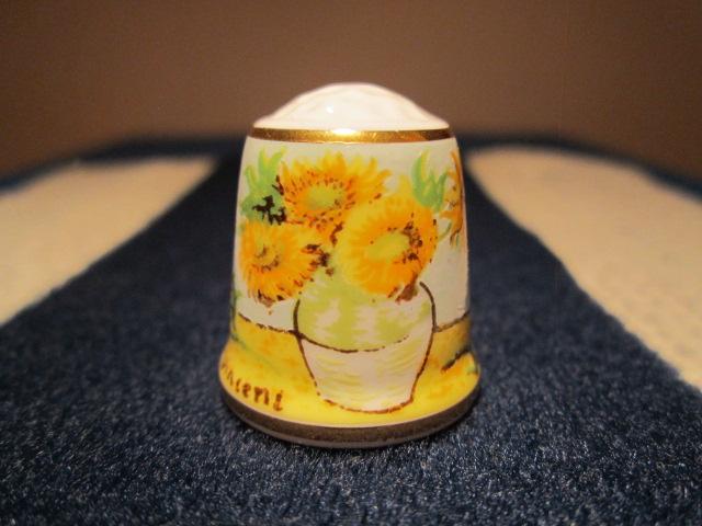 TCC Davenport England - Sunflower by VanGogh
