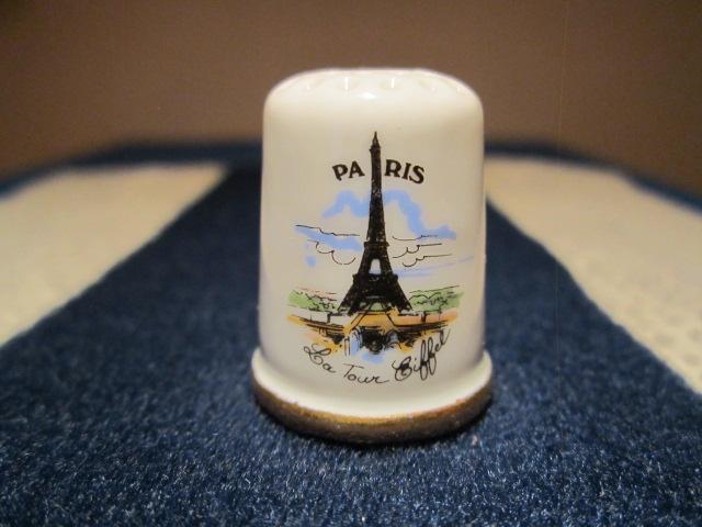 Náprstek Francie - Paříž - Eiffelova věž - náprstky světa