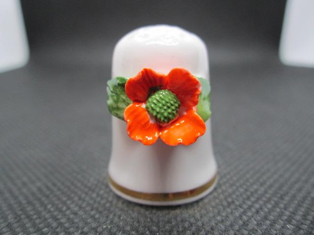 3D Sasanka, květina měsíce Listopad