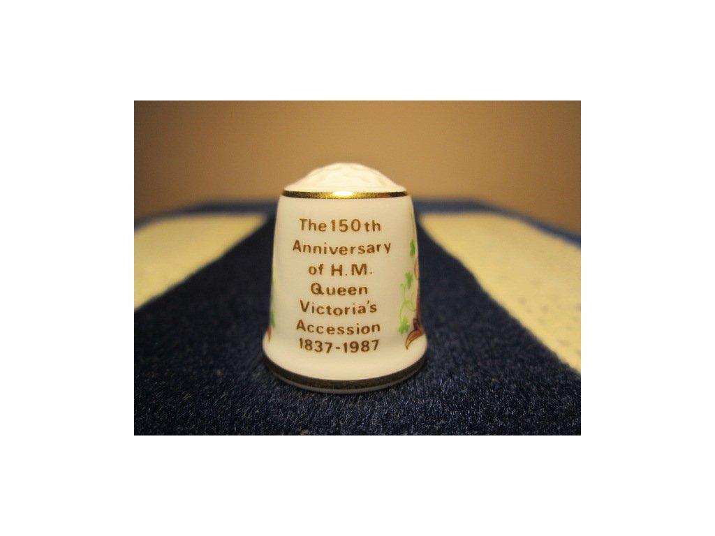 Sběratelský náprstek - Sutherland England - Královna Victoria 150 let výročí začátku vlády