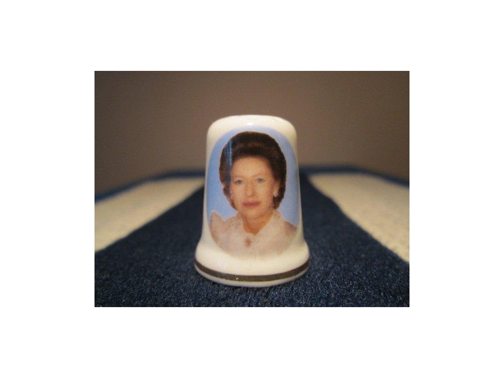 Sběratelský náprstek - Princezna Margaret, St. George