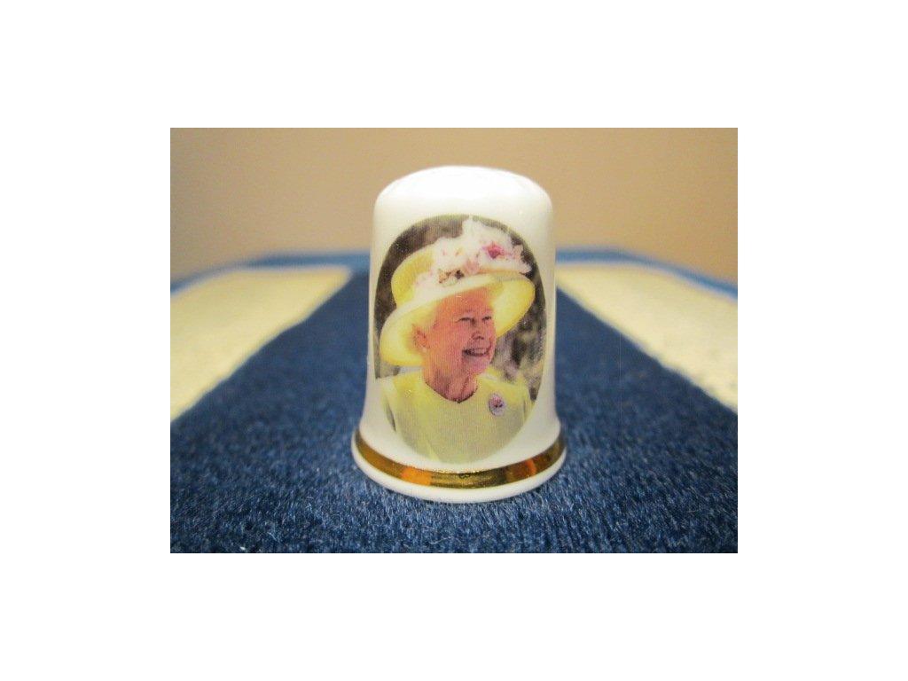 Sběratelský náprstek - Královna Alžběta II. - 85. narozeniny, 2011