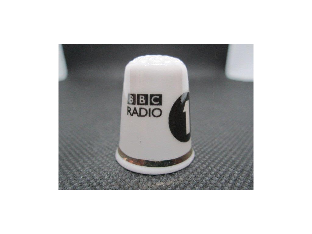Sběratelský náprstek - TTG BBC Radio 1, zahájení 1967, 40. výročí