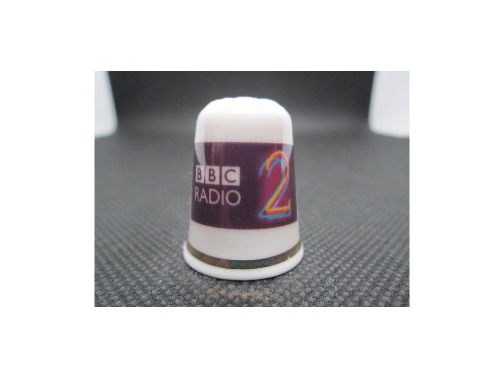 Sběratelský náprstek - TTG BBC Radio 2, zahájení 1967, 40. výročí