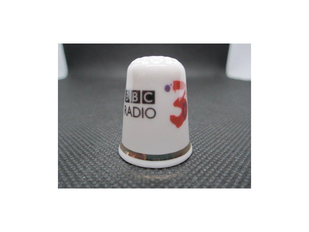 Sběratelský náprstek - TTG BBC Radio 3, zahájení 1967, 40. výročí