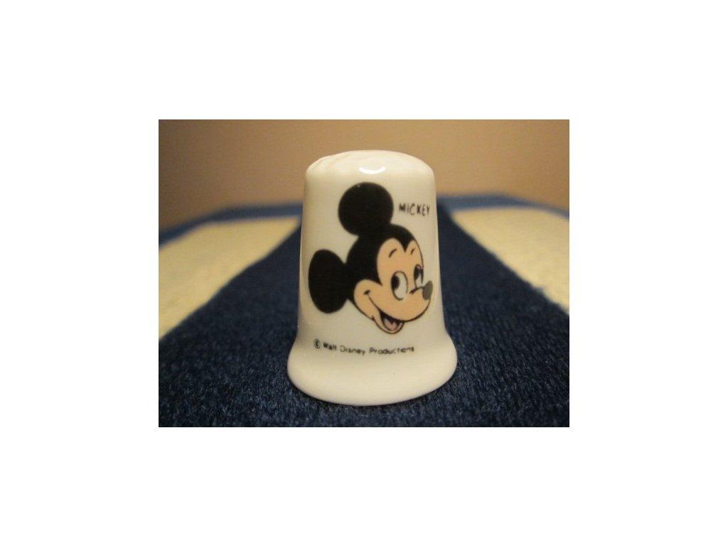 Sběratelský náprstek - Pohádka Walt Disney - Mickey Mouse