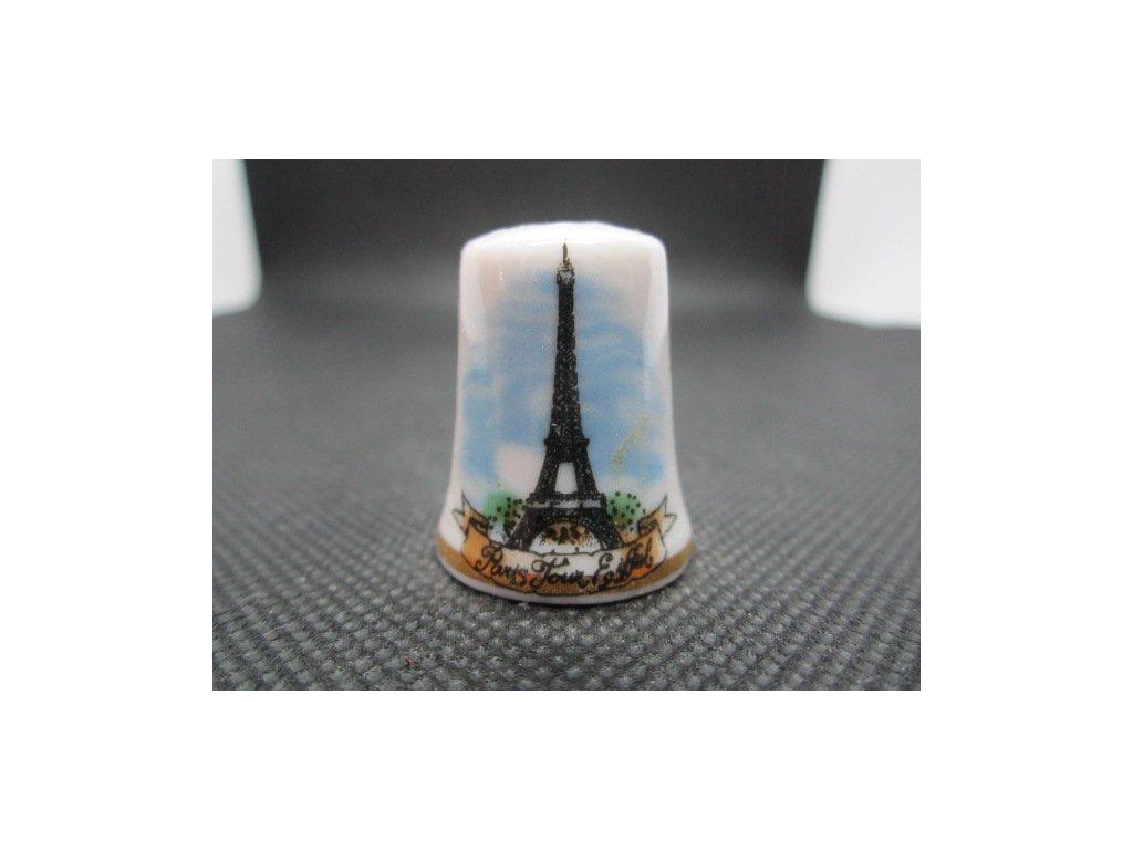 Sběratelský náprstek - Francie - Paříž, Eiffelova věž