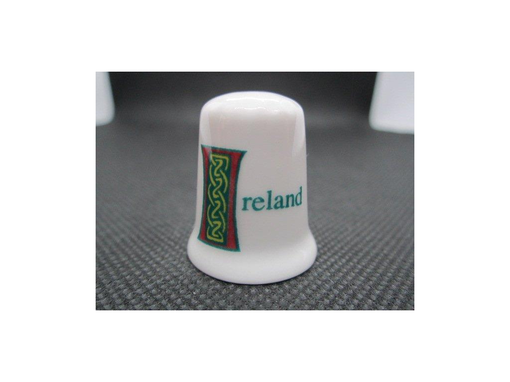 Sběratelský náprstek - Irsko - symbol keltský uzel