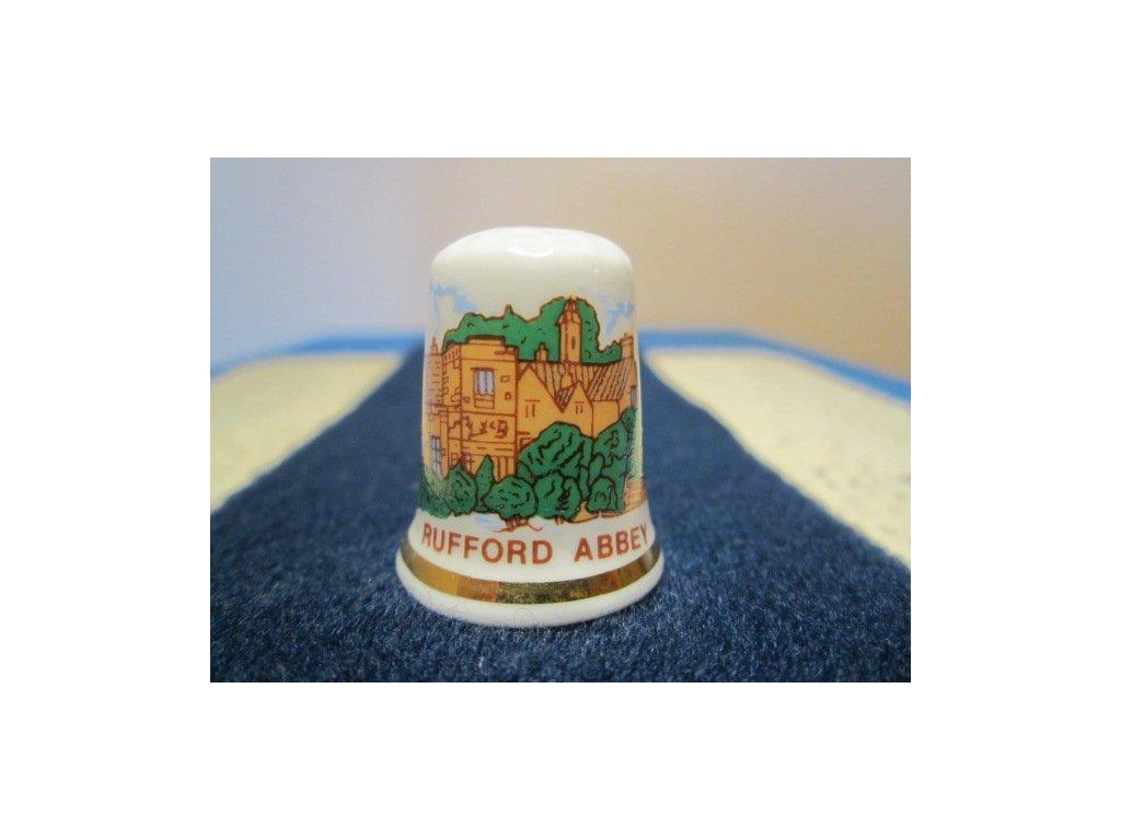 Sběratelský náprstek - Anglie - Rufford Abbey, klášter