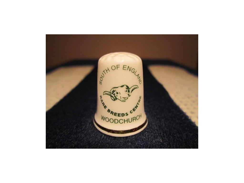 Sběratelský náprstek - Anglie - Woodchurch - 100. výročí