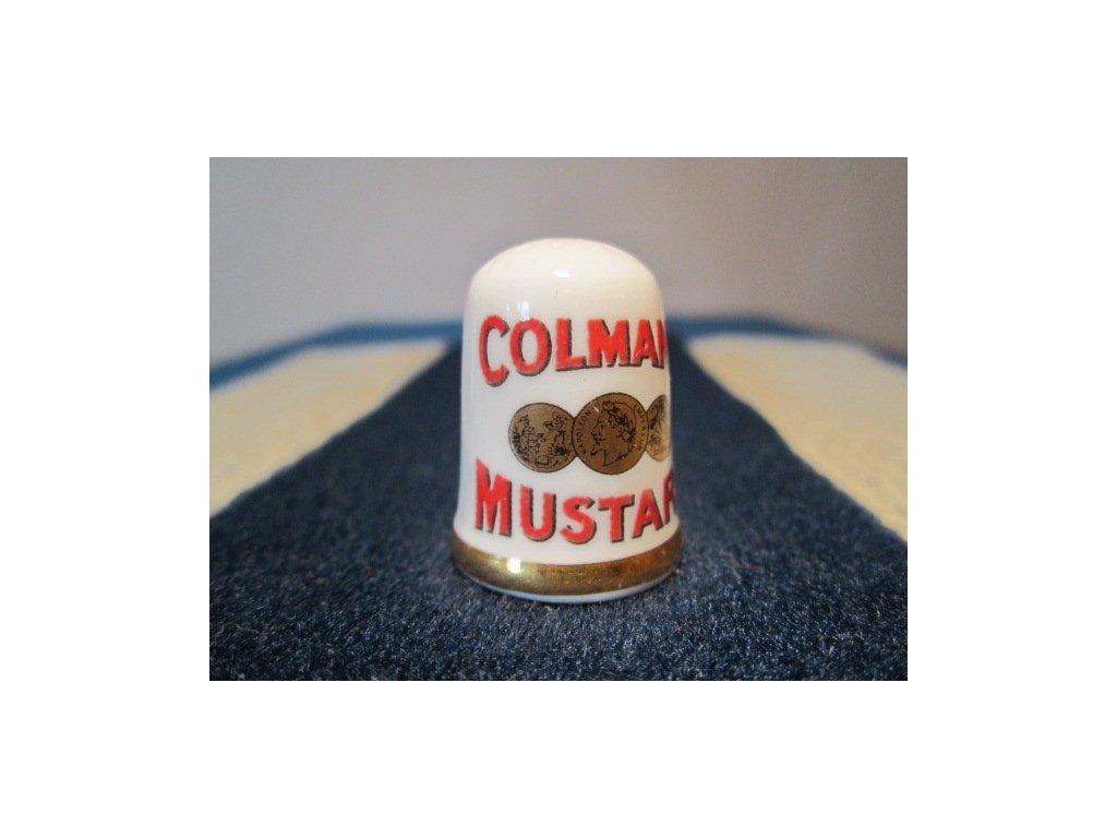 Caverswall Reklama Colmans Mustard - hořčice