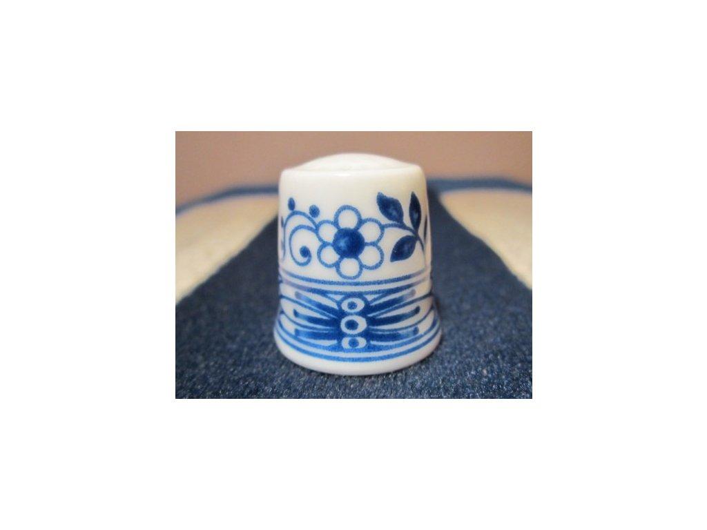 Sběratelský náprstek - WGPH Hutschenreuther Germany - Blue Onion