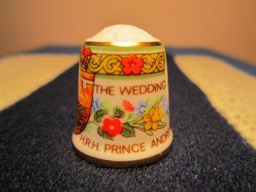 Princ Andrew a Sarah, svatební den, Sutherland