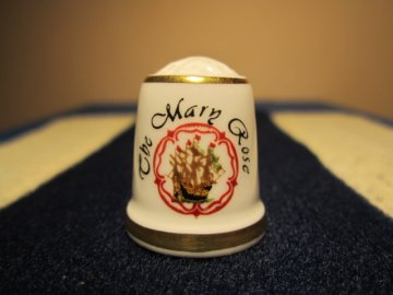 Loď Jindřicha VIII. - Mary Rose, Sutherland England