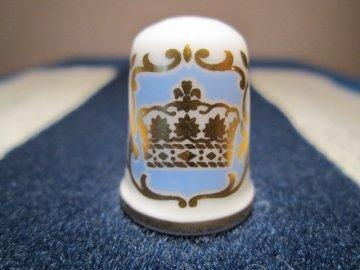 Sběratelský náprstek - Caverswall England - Princ William narození 1982