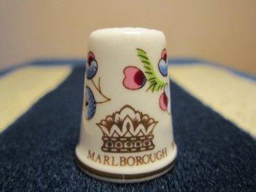 Sběratelský náprstek - TCC Marlborough England - zn. porcelánky