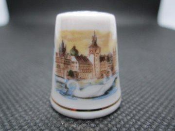 Sběratelský náprstek - TCC Epiag Czechoslovakia - Images of Prague 1991