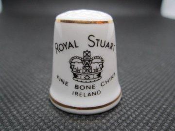 Sběratelský náprstek - TCC Royal Stuart Ireland - zn. porcelánky