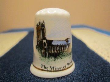 Sběratelský náprstek - Anglie - Beverley, The Minster, kostel