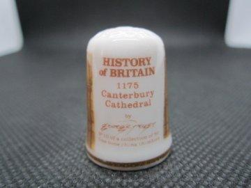 Sběratelský náprstek - TCC Victoria England - Historie Británie, č. 10, Přestavba Canterburské katedrály