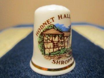 Sběratelský náprstek - Anglie - Shropshire, Hodnet Hall Gardens, park
