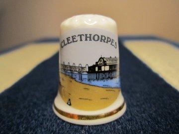 Sběratelský náprstek - Anglie - Cleethorpes, písečná pláž